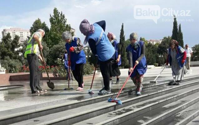 Bakıda iməcilik keçirildi - FOTO, fotoşəkil-3