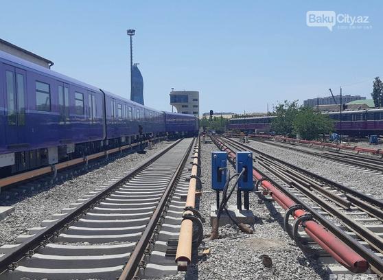 Sərnişinlər bundan sonra Bakı metrosunda bu qatarlarda gedəcək - FOTO, fotoşəkil-1