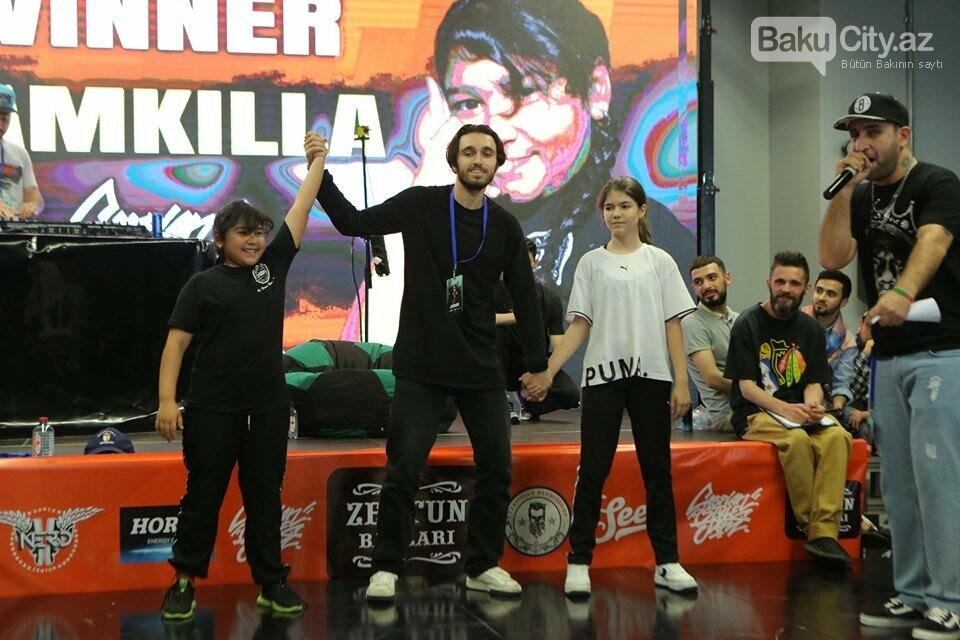 """Bakıda """"Break dance & Hip-Hop"""" rəqsləri üzrə müsabiqə keçirildi, fotoşəkil-7"""