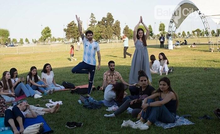 Bakıda yoqa və sağlamlıq festivalı keçirildi, fotoşəkil-5