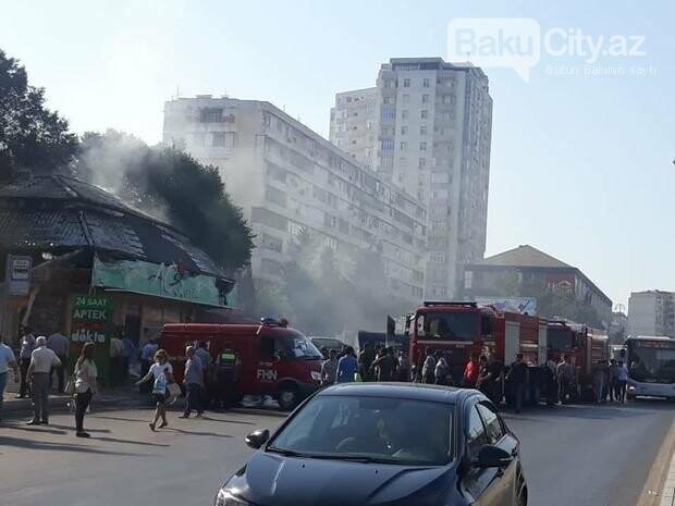 Bakıda daha bir məşhur mağaza yandı - FOTO, fotoşəkil-2