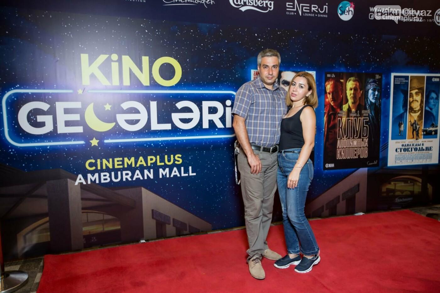 """Bakıda üç filmin nümayişi ilə """"Kino Gecəsi"""" keçirildi - FOTO, fotoşəkil-6"""