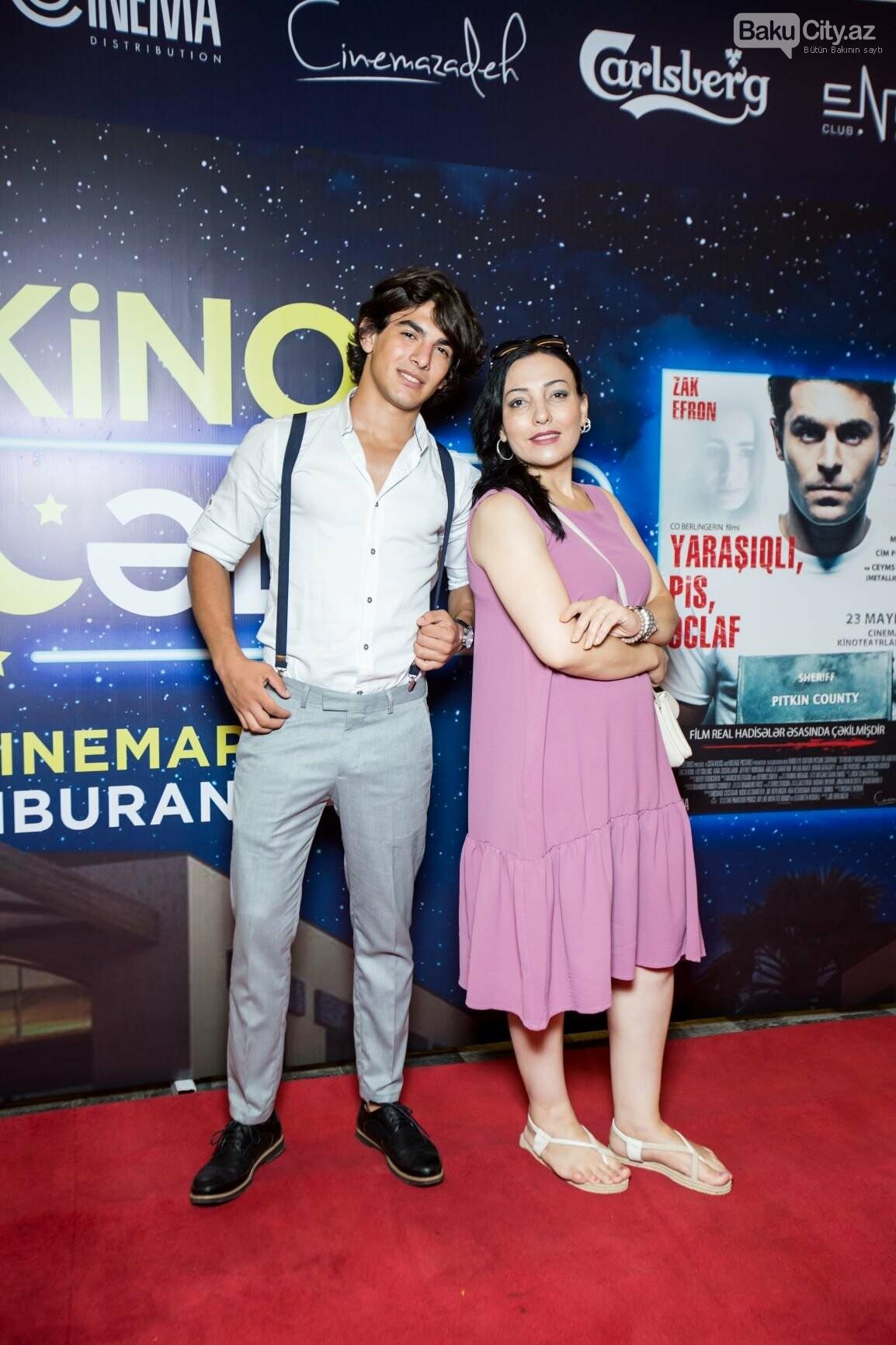 """Bakıda üç filmin nümayişi ilə """"Kino Gecəsi"""" keçirildi - FOTO, fotoşəkil-13"""