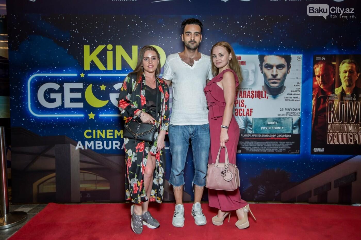 """Bakıda üç filmin nümayişi ilə """"Kino Gecəsi"""" keçirildi - FOTO, fotoşəkil-16"""