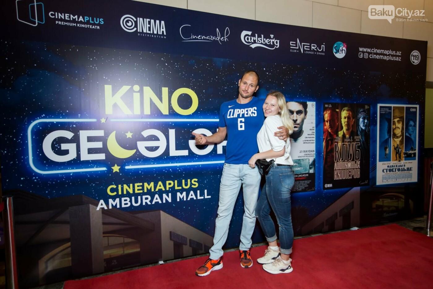 """Bakıda üç filmin nümayişi ilə """"Kino Gecəsi"""" keçirildi - FOTO, fotoşəkil-21"""