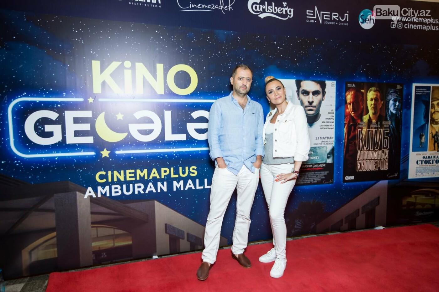 """Bakıda üç filmin nümayişi ilə """"Kino Gecəsi"""" keçirildi - FOTO, fotoşəkil-25"""