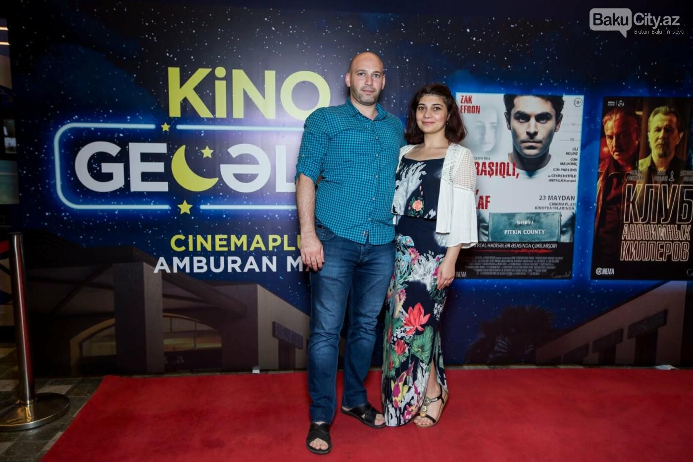 """Bakıda üç filmin nümayişi ilə """"Kino Gecəsi"""" keçirildi - FOTO, fotoşəkil-30"""