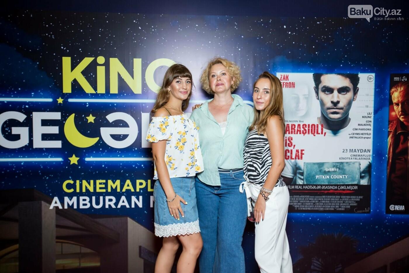 """Bakıda üç filmin nümayişi ilə """"Kino Gecəsi"""" keçirildi - FOTO, fotoşəkil-9"""