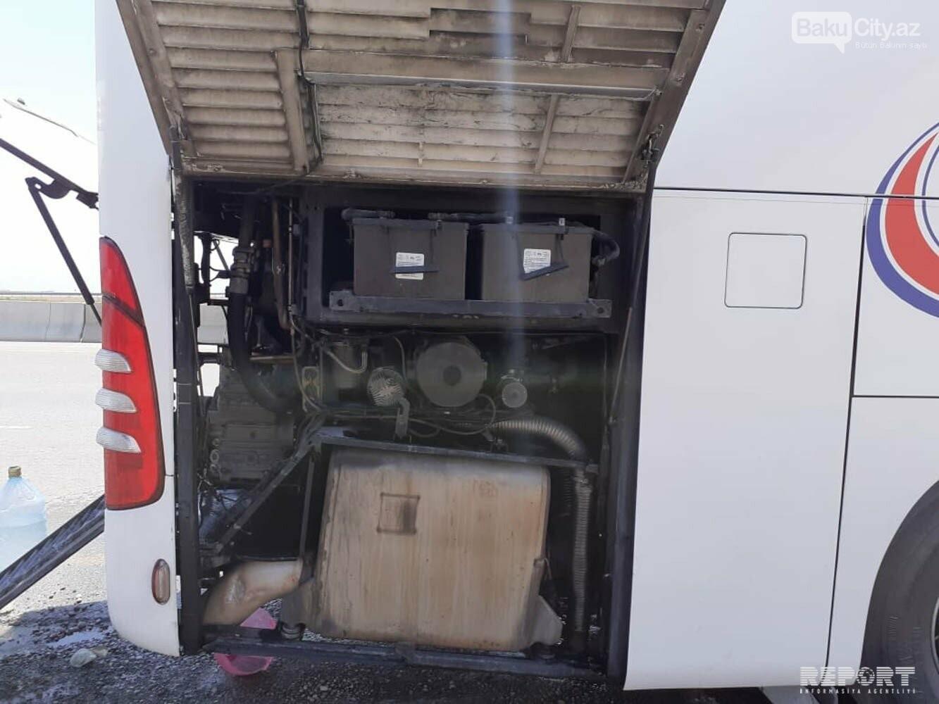 Bakı-İstanbul sərnişin avtobusunda yanğın olub - FOTO, fotoşəkil-1
