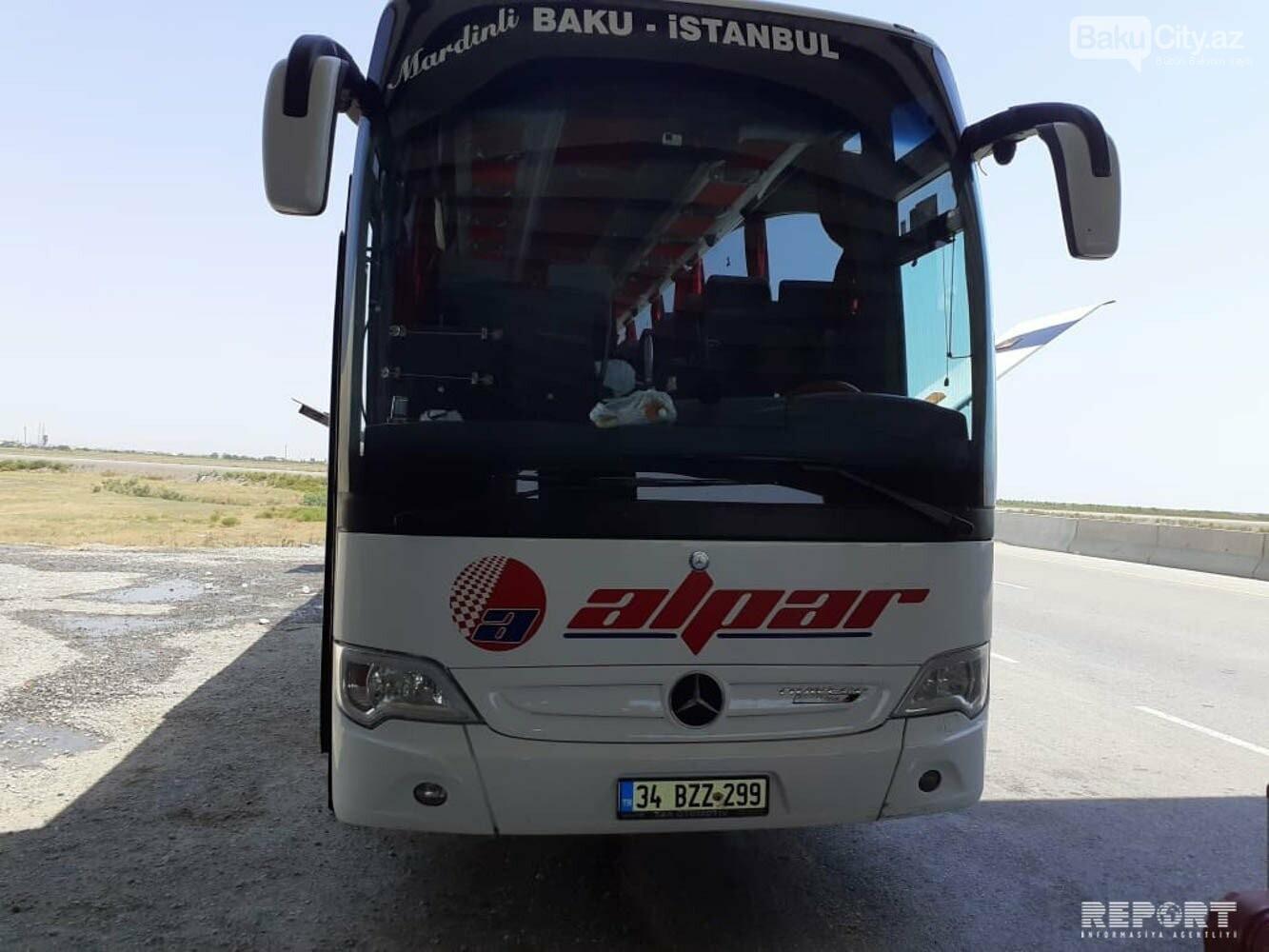 Bakı-İstanbul sərnişin avtobusunda yanğın olub - FOTO, fotoşəkil-3