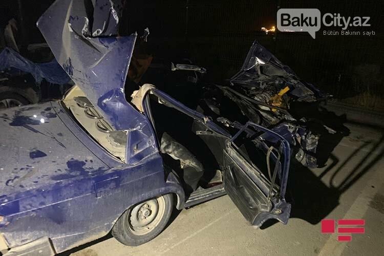 Bakıda ağır yol qəzası, ölü və yaralı var - FOTO, fotoşəkil-4