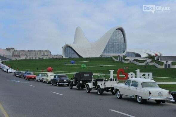 Bakıda klassik avtomobillərin yürüşü keçiriləcək - FOTO, fotoşəkil-1