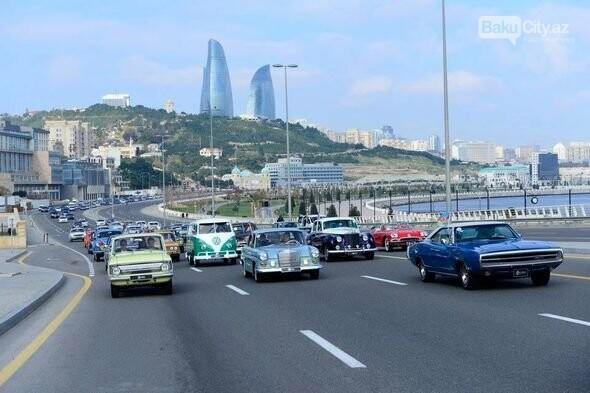 Bakıda klassik avtomobillərin yürüşü keçiriləcək - FOTO, fotoşəkil-2
