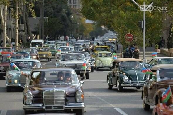 Bakıda klassik avtomobillərin yürüşü keçiriləcək - FOTO, fotoşəkil-3