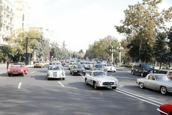 Bakıda klassik avtomobillərin yürüşü keçiriləcək - FOTO, fotoşəkil-4