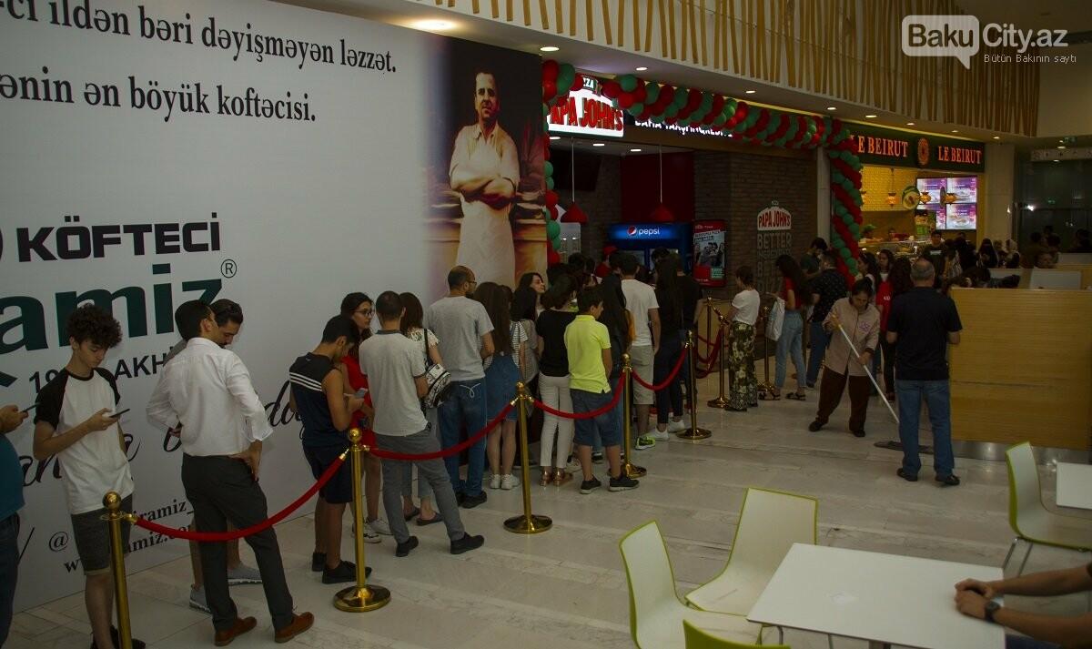 """""""Papa John's"""" restoranlar şəbəkəsi artıq """"28 Mall""""-da - FOTO , fotoşəkil-1"""