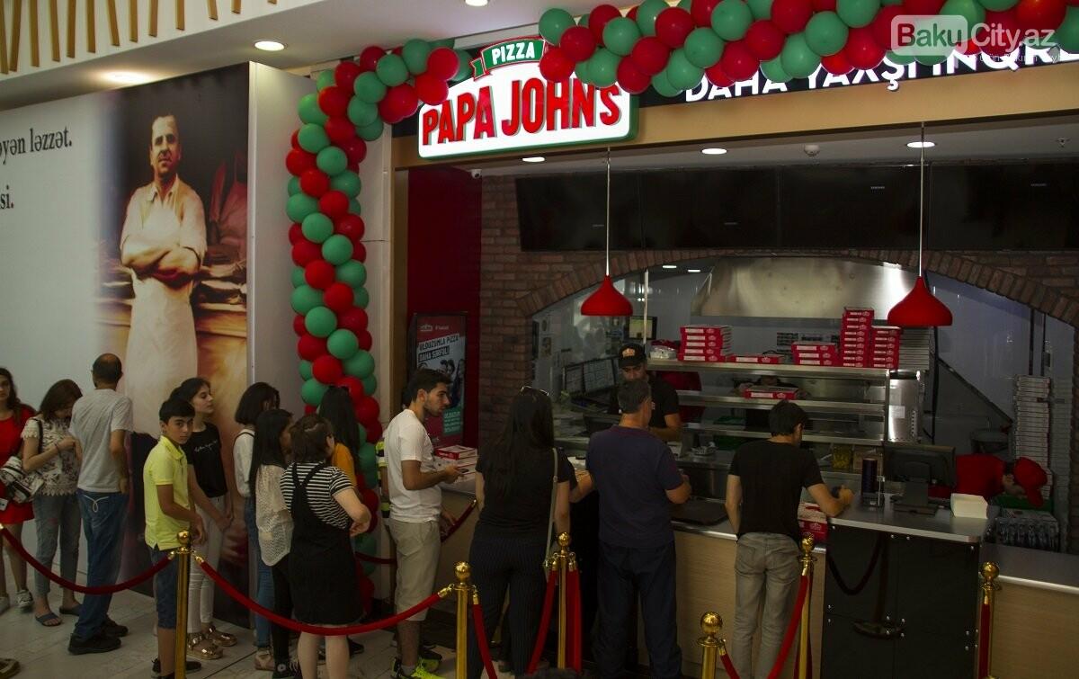 """""""Papa John's"""" restoranlar şəbəkəsi artıq """"28 Mall""""-da - FOTO , fotoşəkil-5"""