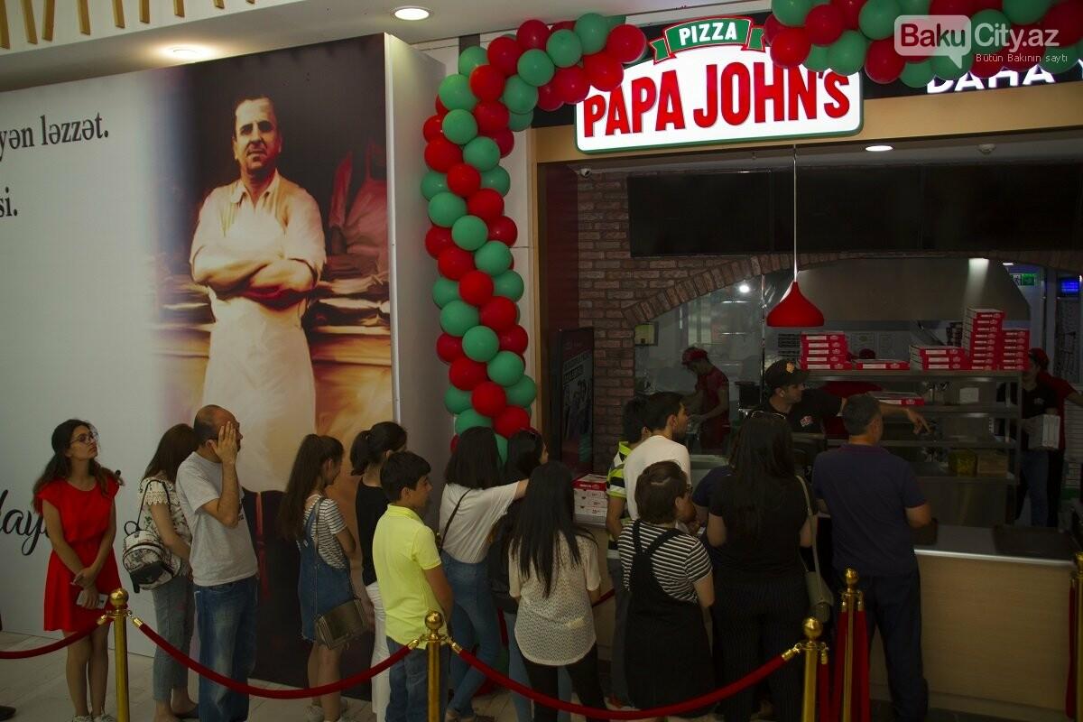 """""""Papa John's"""" restoranlar şəbəkəsi artıq """"28 Mall""""-da - FOTO , fotoşəkil-6"""