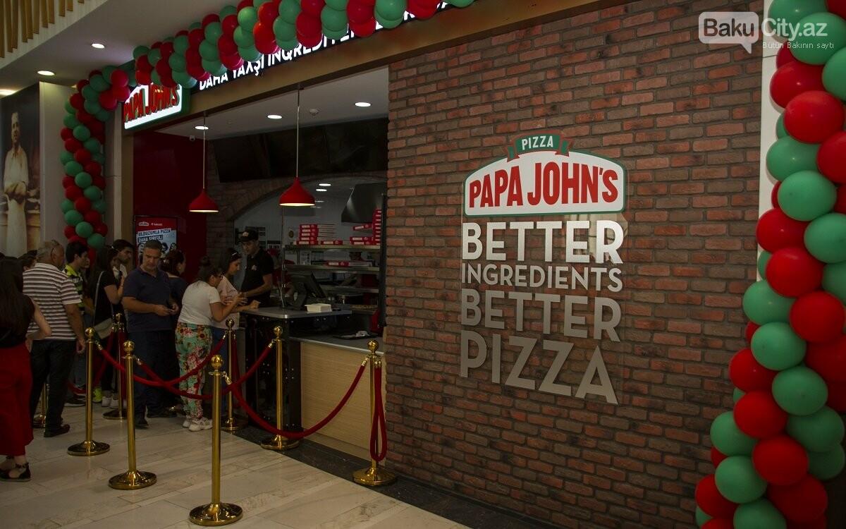 """""""Papa John's"""" restoranlar şəbəkəsi artıq """"28 Mall""""-da - FOTO , fotoşəkil-12"""