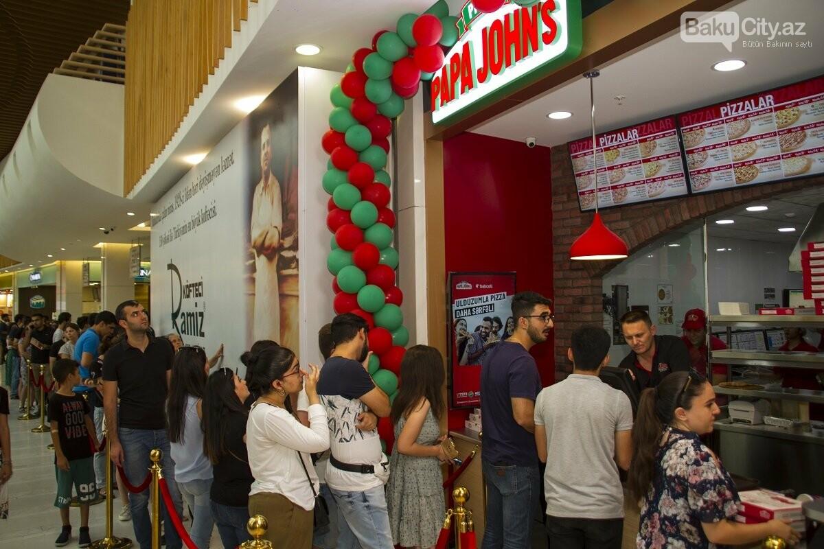"""""""Papa John's"""" restoranlar şəbəkəsi artıq """"28 Mall""""-da - FOTO , fotoşəkil-7"""