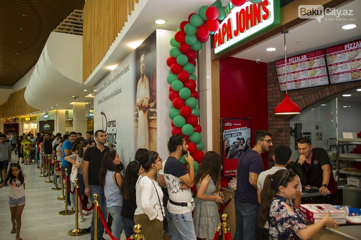 """""""Papa John's"""" restoranlar şəbəkəsi artıq """"28 Mall""""-da - FOTO , fotoşəkil-13"""