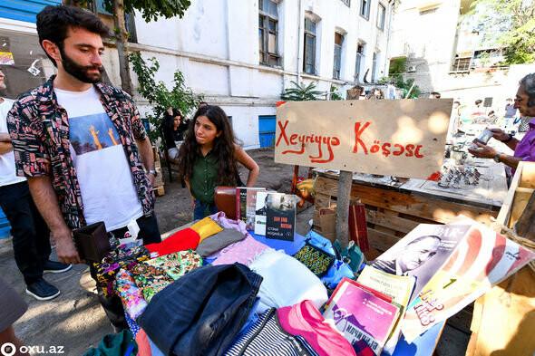 """Bakıda """"bit bazarı""""nda ikinci əl əşyalar satıldı - FOTO, fotoşəkil-8"""
