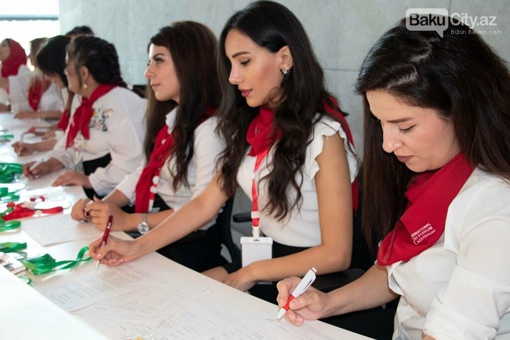 Bakıda keçirilən XIX Beynəlxalq Gənclər Forumu başa çatdı - FOTO, fotoşəkil-10