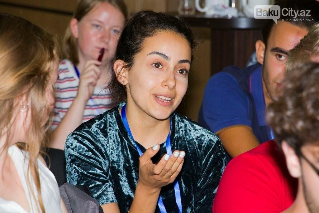 Bakıda keçirilən XIX Beynəlxalq Gənclər Forumu başa çatdı - FOTO, fotoşəkil-6