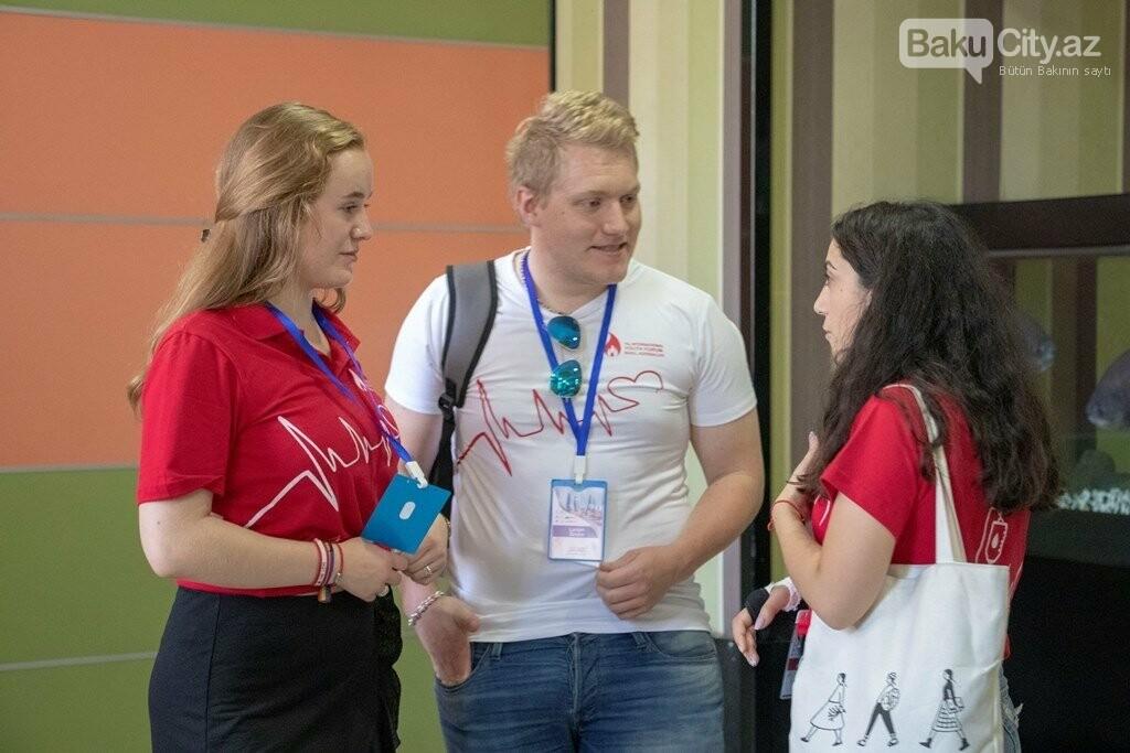 Bakıda keçirilən XIX Beynəlxalq Gənclər Forumu başa çatdı - FOTO, fotoşəkil-2
