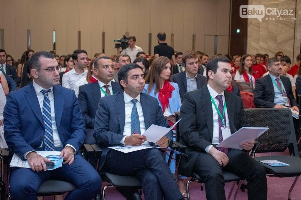 Bakıda keçirilən XIX Beynəlxalq Gənclər Forumu başa çatdı - FOTO, fotoşəkil-5