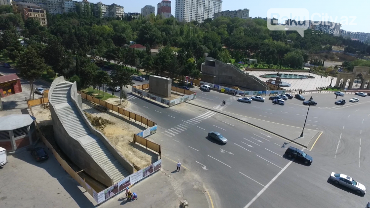 Bakıda yeni piyada keçidləri inşa edilir, fotoşəkil-7
