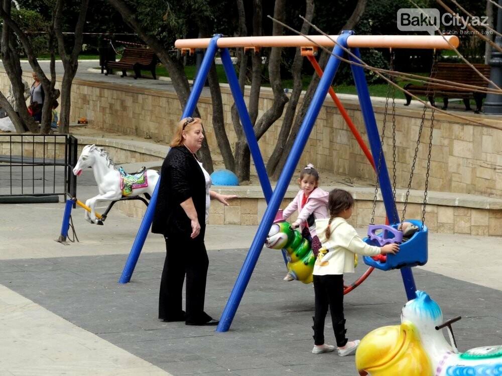 """Uşaqlar və böyüklər üçün: """"Zabitlər Parkı"""" bütün gözəlliyi ilə - FOTOREPORTAJ, fotoşəkil-9"""