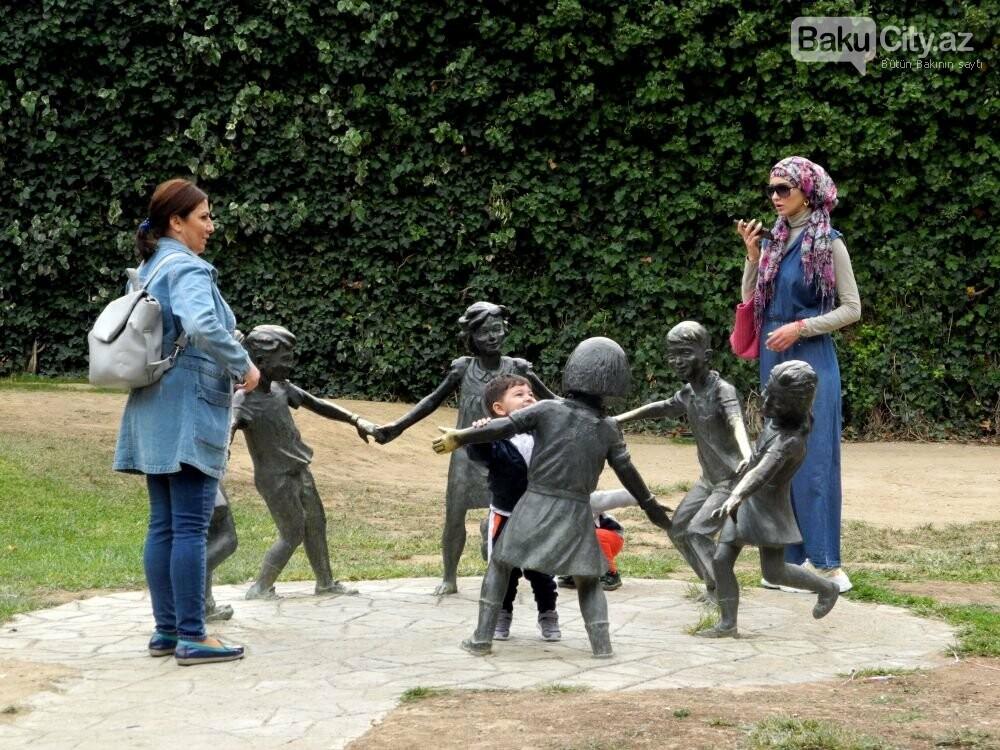 """Uşaqlar və böyüklər üçün: """"Zabitlər Parkı"""" bütün gözəlliyi ilə - FOTOREPORTAJ, fotoşəkil-8"""