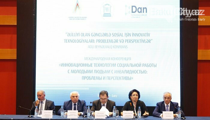 Bakıda əlilliyi olan gənclərin problemlərinə həsr olunmuş konfrans keçirilib - FOTO, fotoşəkil-3