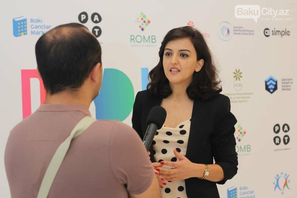 """Bakıda """"Digital Youth Hub"""" layihəsi təqdim olunub - FOTO, fotoşəkil-5"""