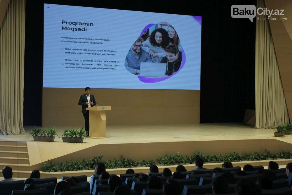 """Bakıda """"Digital Youth Hub"""" layihəsi təqdim olunub - FOTO, fotoşəkil-9"""