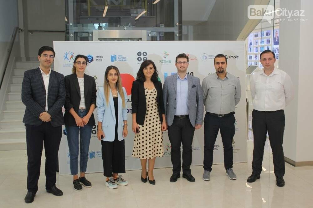 """Bakıda """"Digital Youth Hub"""" layihəsi təqdim olunub - FOTO, fotoşəkil-11"""
