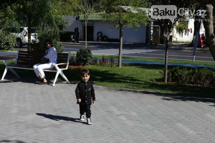 Bakının yenilənən Atatürk prospekti: Mərkəzdə istirahət üçün ideal məkan - FOTOREPORTAJ, fotoşəkil-11