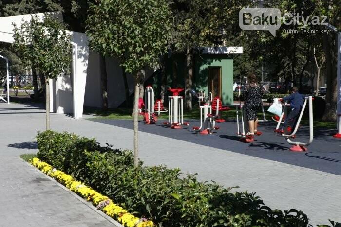 Bakının yenilənən Atatürk prospekti: Mərkəzdə istirahət üçün ideal məkan - FOTOREPORTAJ, fotoşəkil-21