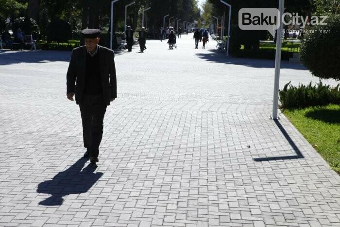 Bakının yenilənən Atatürk prospekti: Mərkəzdə istirahət üçün ideal məkan - FOTOREPORTAJ, fotoşəkil-4