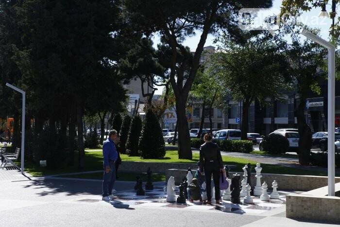 Bakının yenilənən Atatürk prospekti: Mərkəzdə istirahət üçün ideal məkan - FOTOREPORTAJ, fotoşəkil-5