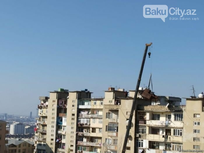 Bakıda binaların üstündəki dəmir çənlər plastmaslarla əvəz oluna bilər - FOTO, fotoşəkil-3