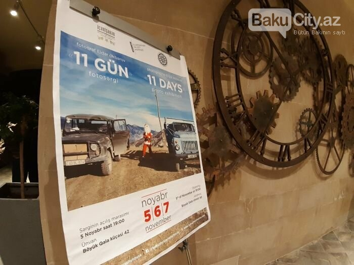 """Bakıda """"11 GÜN"""" fotosərgisi açıldı: Şaxta babalara dəstək olun - FOTO, fotoşəkil-4"""