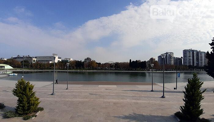 Dədə Qorqud parkı: şəhərin mərkəzində oazis, katamaranla gəzinti - FOTO, fotoşəkil-6