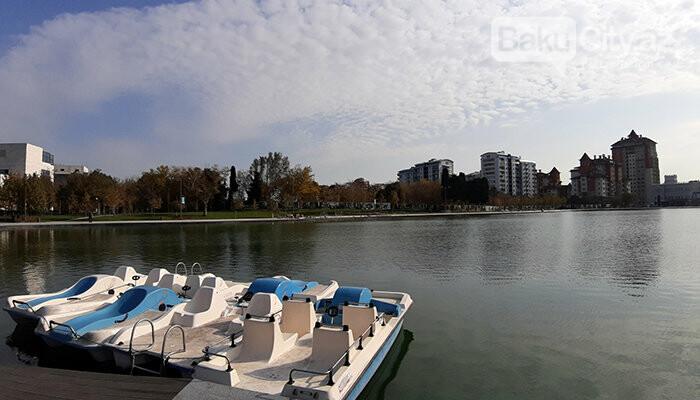 Dədə Qorqud parkı: şəhərin mərkəzində oazis, katamaranla gəzinti - FOTO, fotoşəkil-7