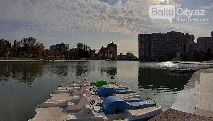 Dədə Qorqud parkı: şəhərin mərkəzində oazis, katamaranla gəzinti - FOTO, fotoşəkil-8