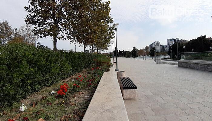 Dədə Qorqud parkı: şəhərin mərkəzində oazis, katamaranla gəzinti - FOTO, fotoşəkil-14
