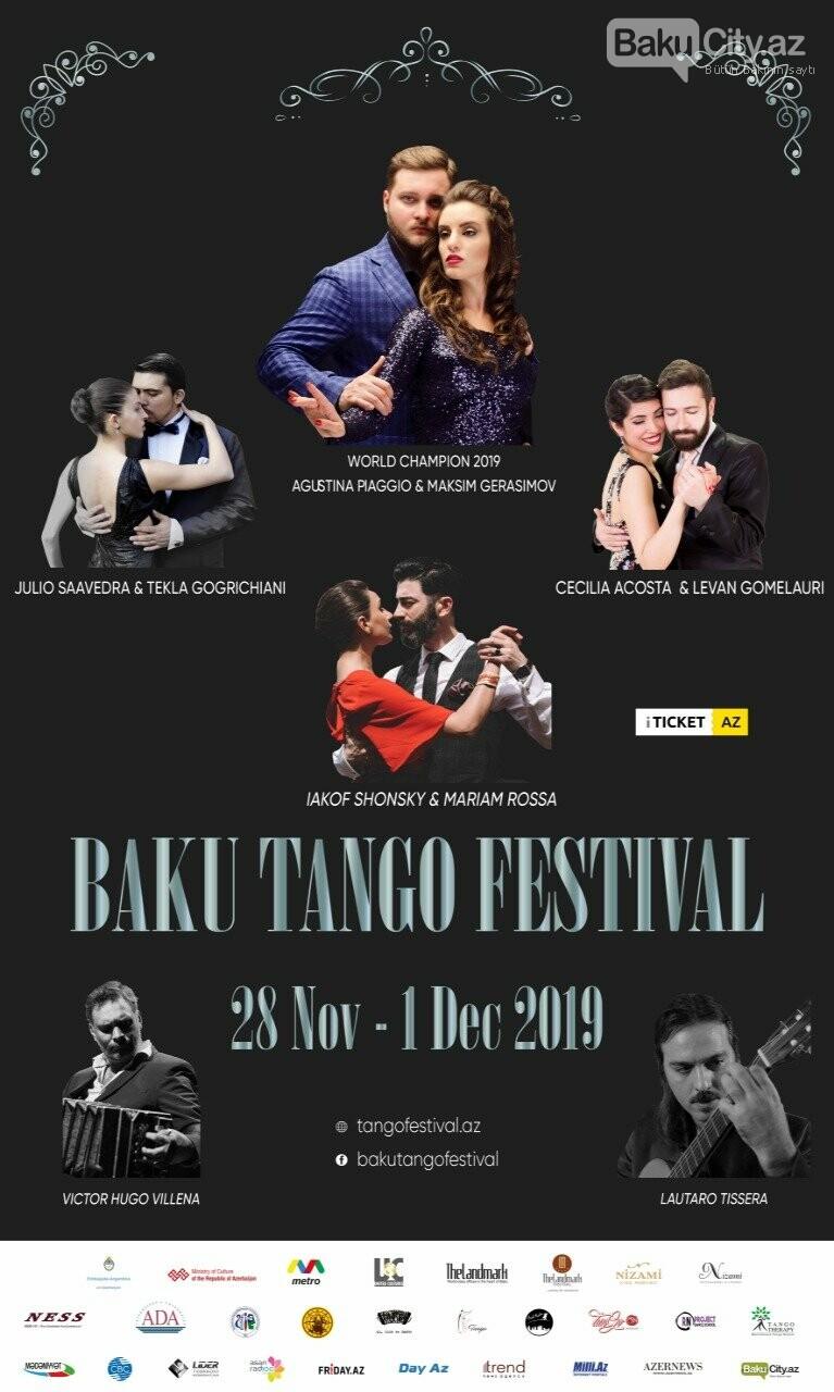 Beynəlxalq Bakı Tanqo Festivalı gerçəkləşir, fotoşəkil-1