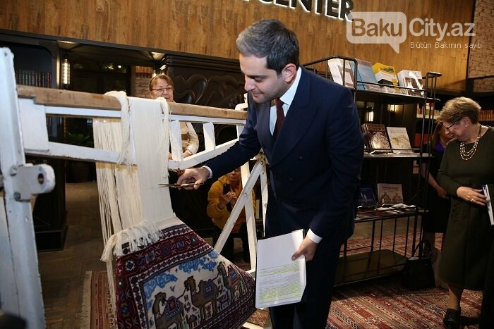 Bakıda Xalça Muzeyinin 50 illiyinə həsr olunmuş  kitabın təqdimatı olub - FOTO, fotoşəkil-5
