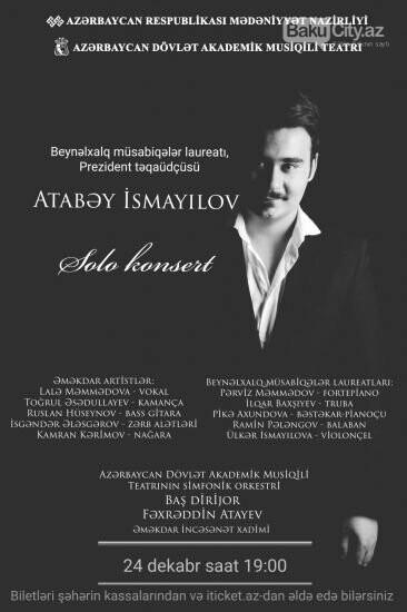 Akademik Musiqili Teatrın yeni layihəsi: Prezident təqaüdçüsü cıxış edəcək, fotoşəkil-1